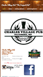 Mobile Preview of charlesvillagepub.net