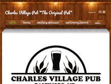 Tablet Preview of charlesvillagepub.net